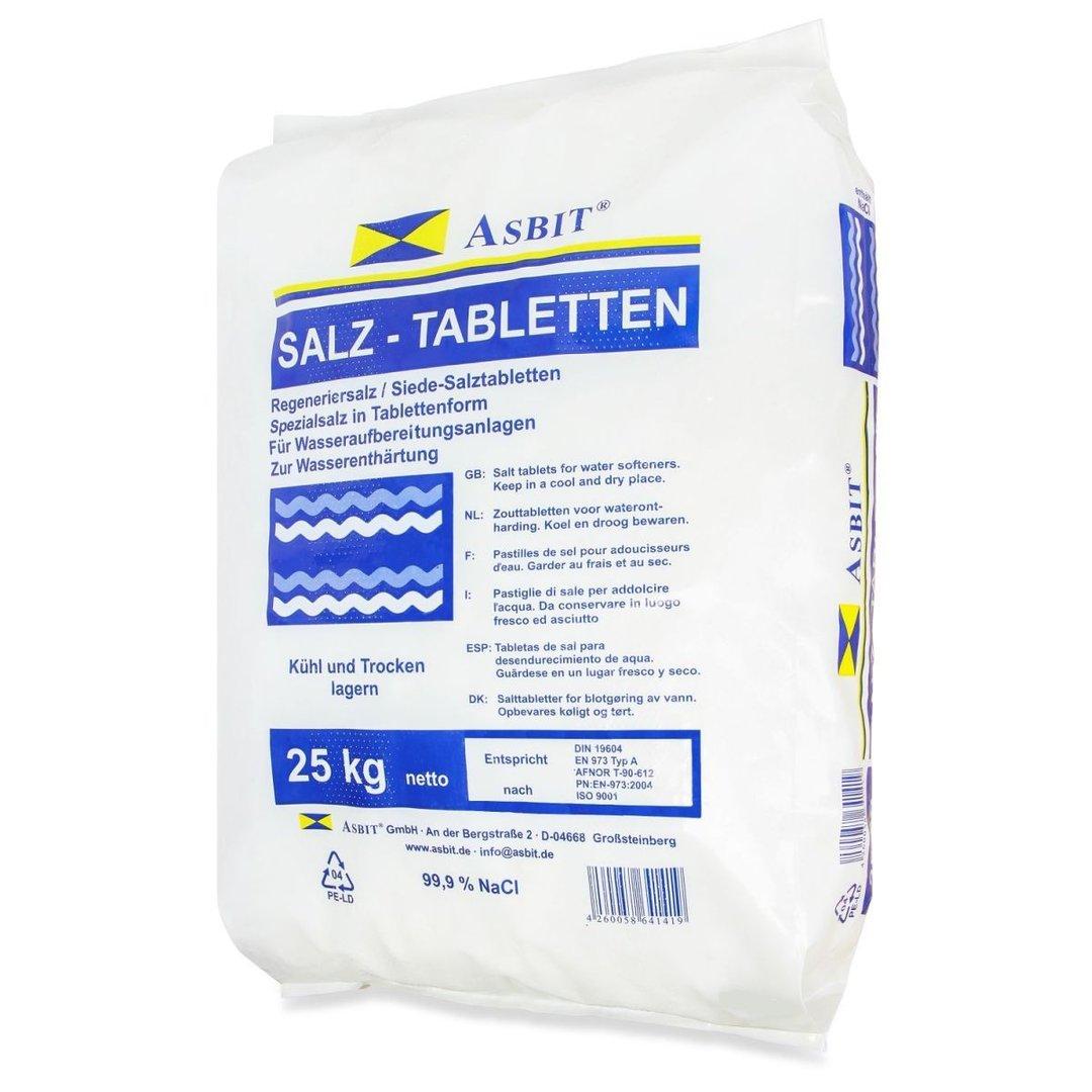Asbit Siede-Regeneriersalztabletten 25kg